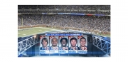 Super Bowl 45 Lineup Style Frame