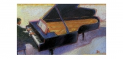 He Played On & On Pastel